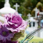 Afloop van een begrafenis